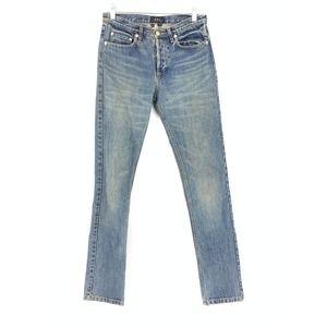 A.P.C. Slim Leg Denim Button Fly 100% Cotton